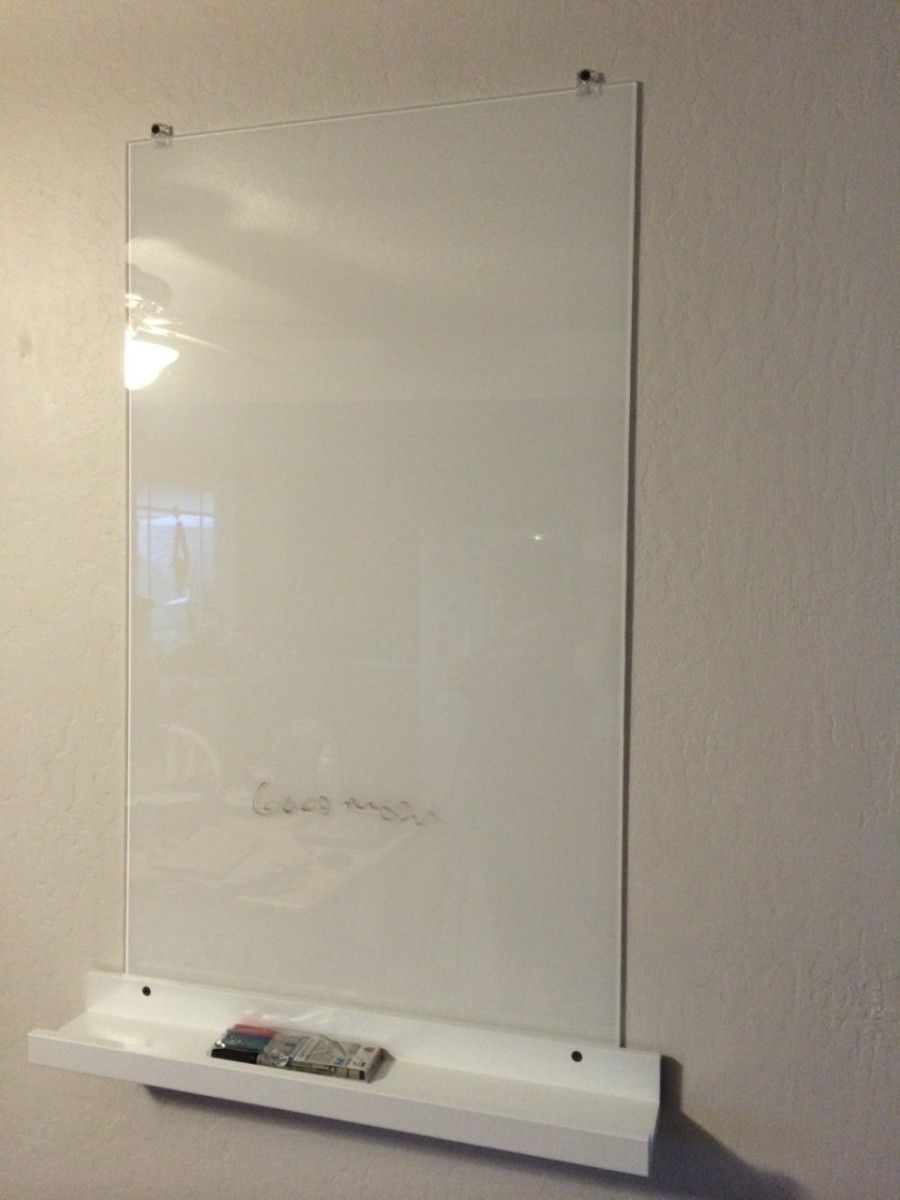 White Glass Dry Eraser Board For 28 Ikea Hackers White Glass Glass Dry Erase Home