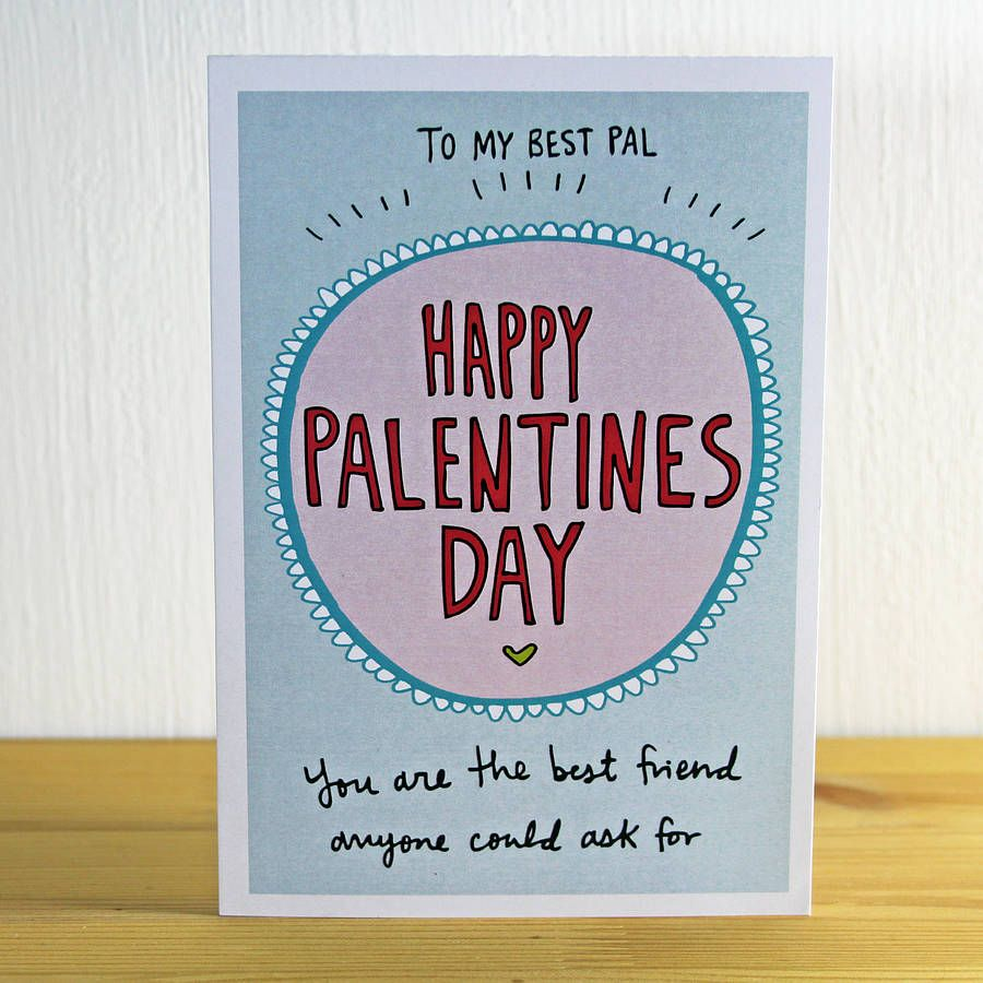 20 Cute And Funny Etsy Valentines Day Cards For Your Best Friend – Valentine Card for Best Friend
