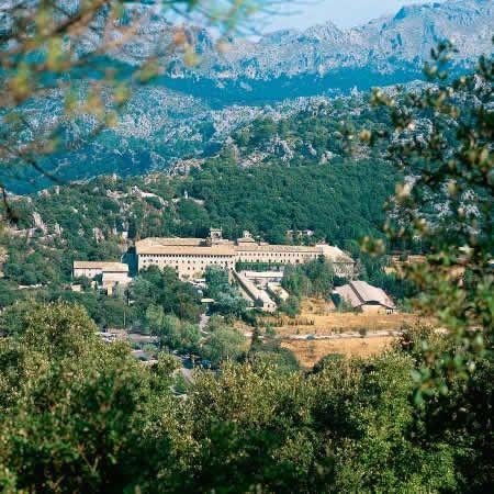 Lluc Monastery Escorca Mallorca Palma De Mallorca Islas Baleares