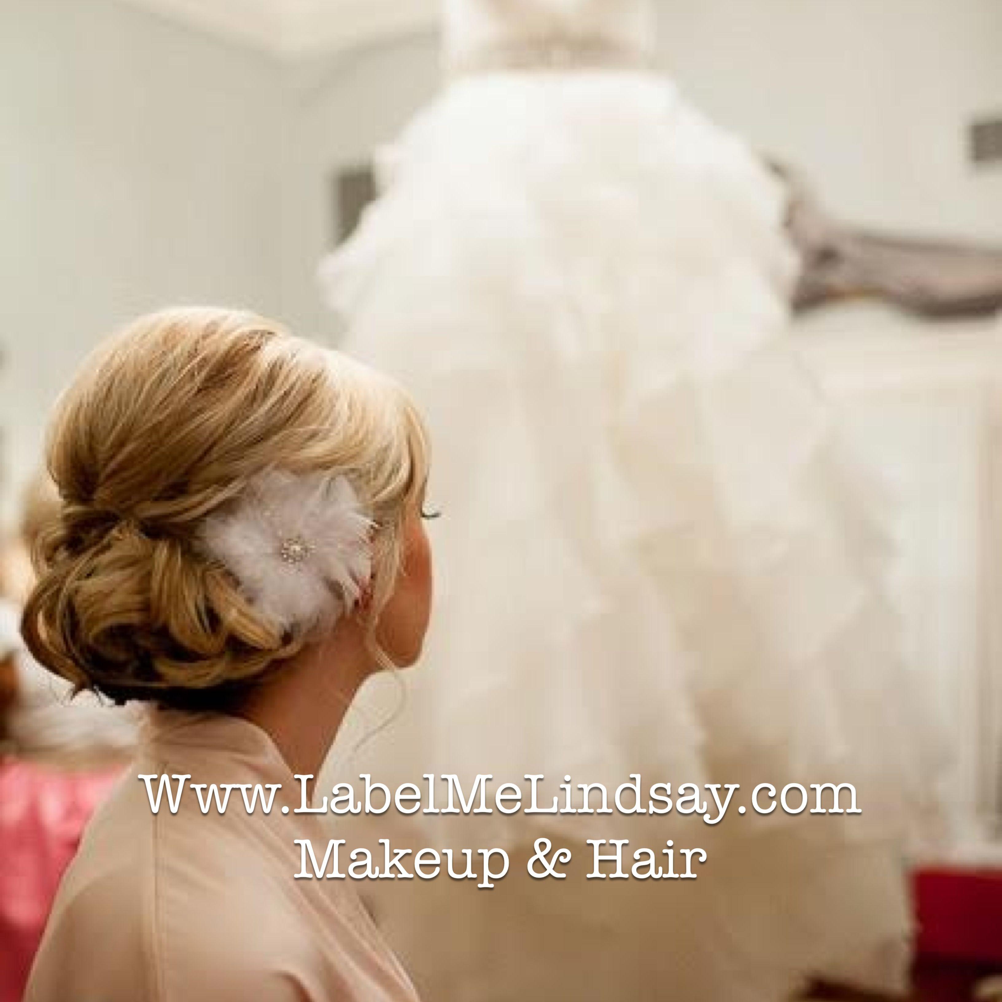 bridal hair updo wedding hair and makeup | My hair and makeup ...