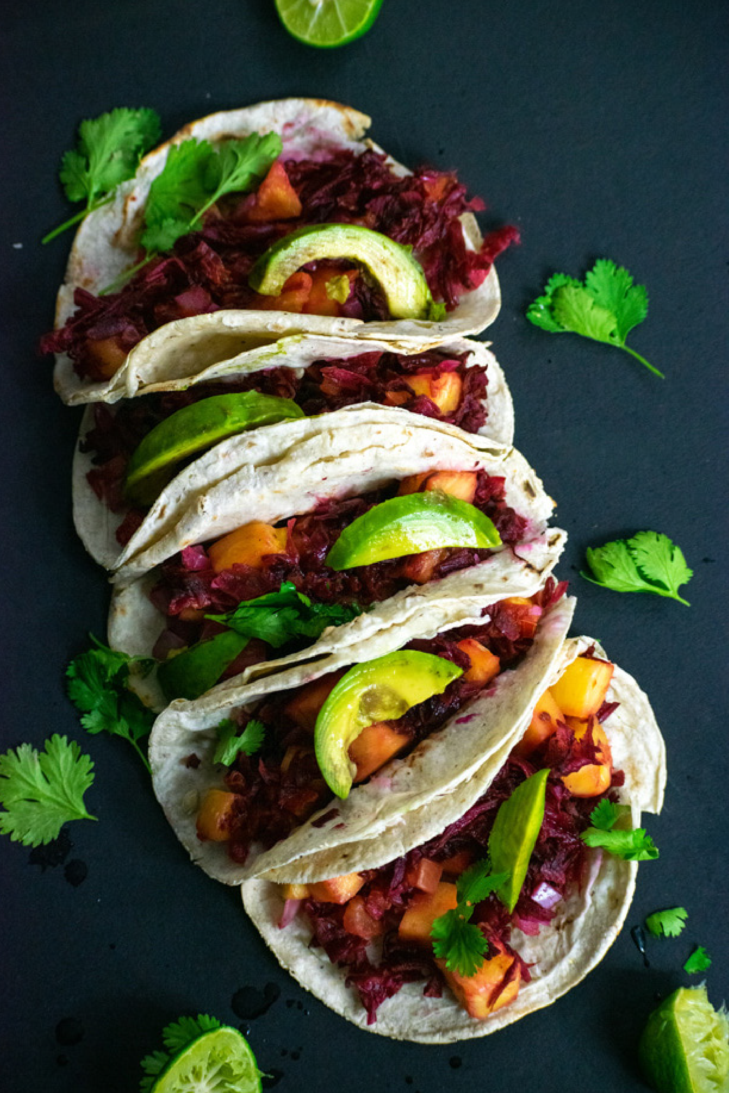Hibiscus Tacos Tacos De Jamaica Recipe Vegan Fajitas Recipes Vegan Mexican