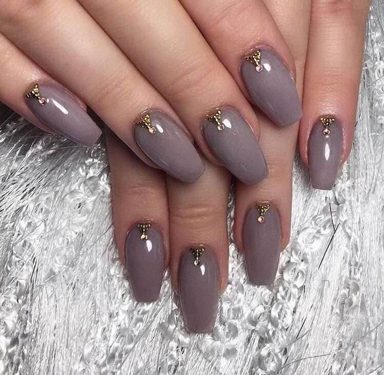 Nikkie Tutorials nails give me LIIIFFFEE! #coffin #ballerina #purple ...