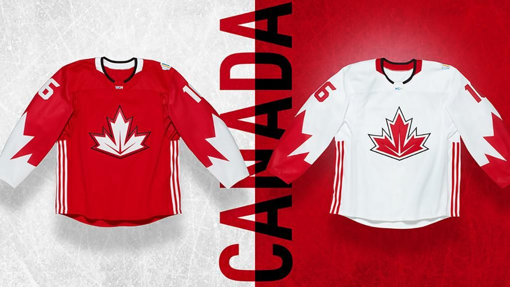 Jerseys Unveiled For World Cup Of Hockey Hockey World Cup Hockey Hockey Jersey