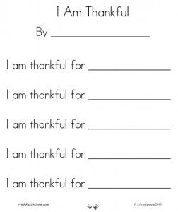 picture regarding I Am Poem Template Printable titled Thanksgiving: \