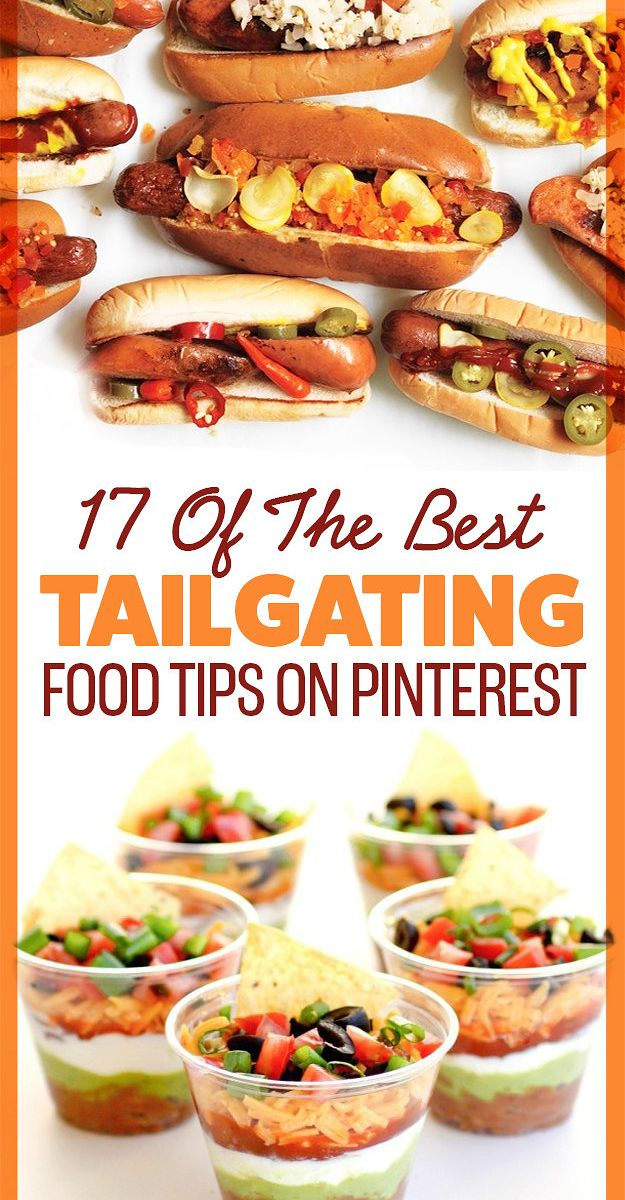 17 Of The Best Tailgating Food Tips On Pinterest Easy Tailgate