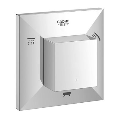 Grohe 19799000 Allure Brilliant 5-Port Diverter Trim