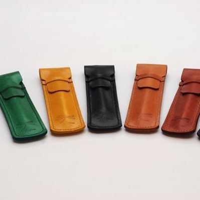 Pen leather Case. Designed by Ludena.
