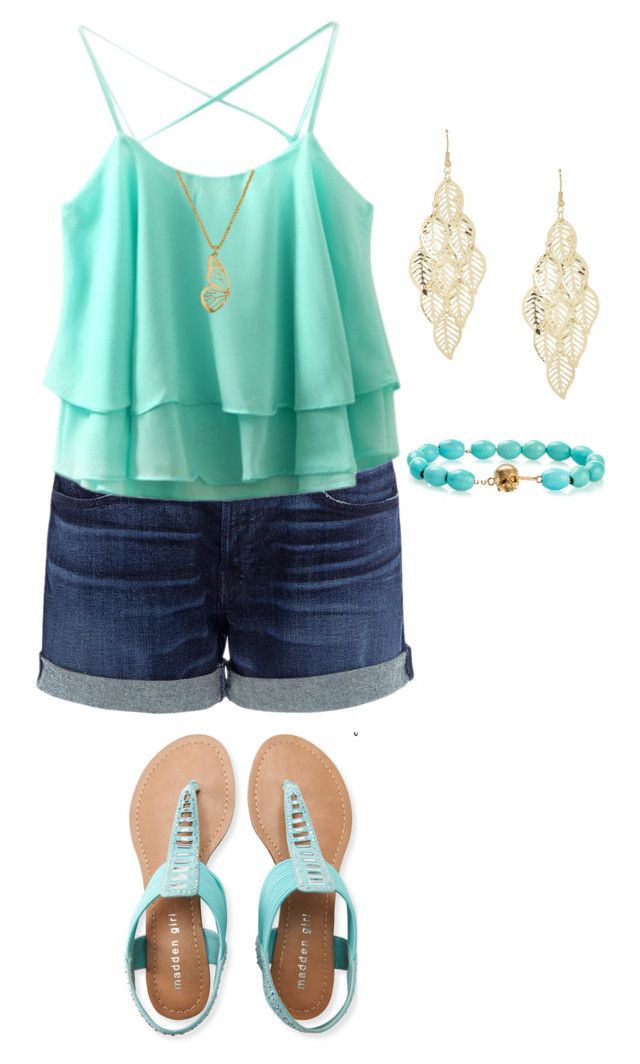 """""""Beach day 2"""" by ilovefashion333 ❤ liked on Polyvore featuring 3x1, Aéropostale, Lucky Brand and Luis Morais"""