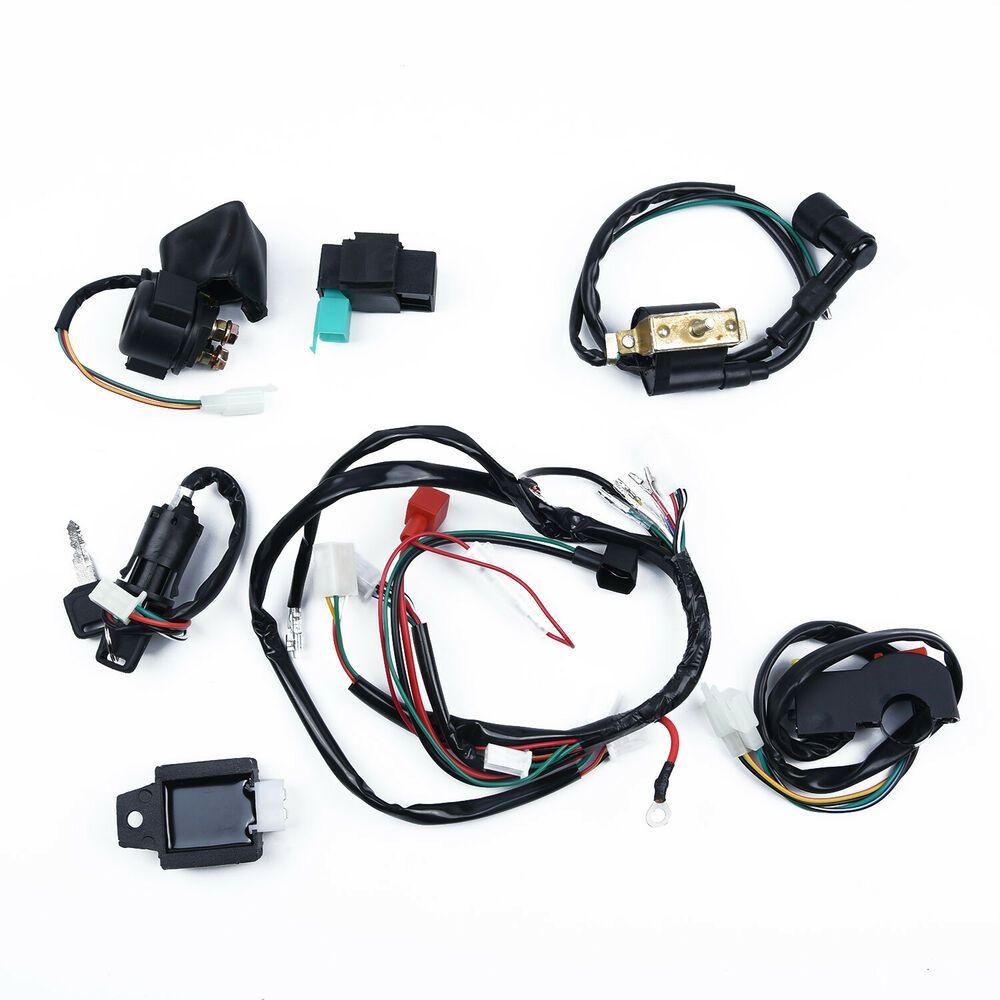 eBay Advertisement) Wire Harness embly Wiring Bike CDI 50 ... on
