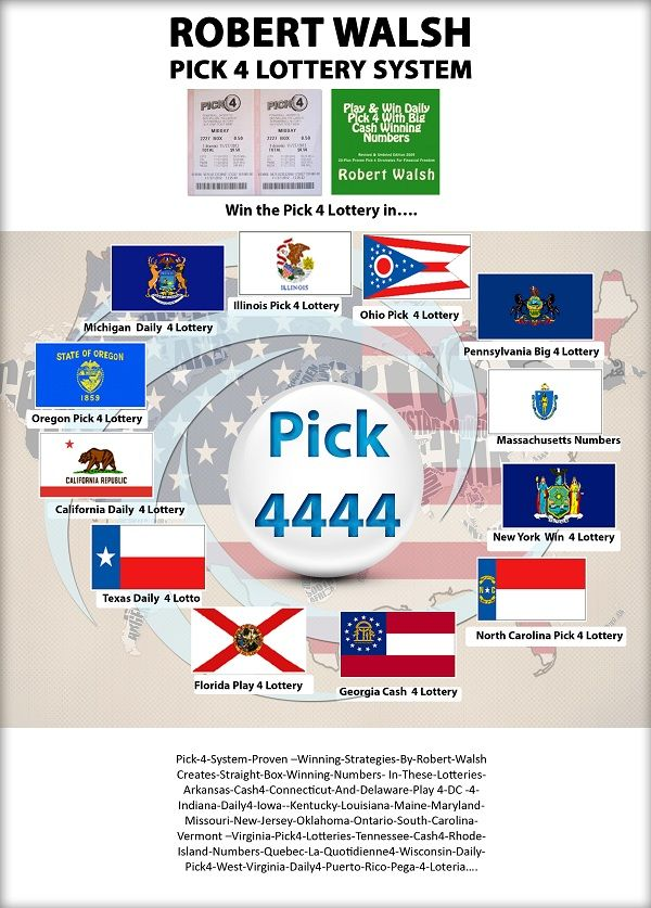 Winning Pick 4 lottery system with its proven strategies works in