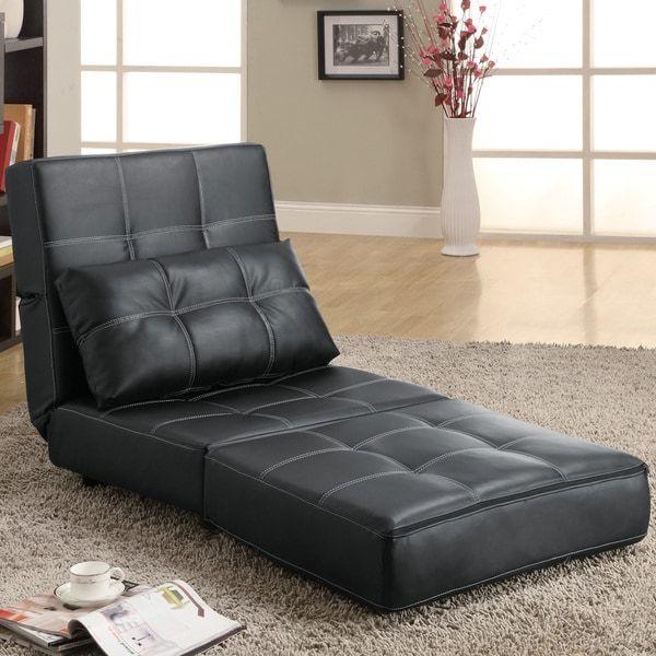 Schwarz Sofa Bett | Sofa, Schwarzes sofa, Sofastuhl
