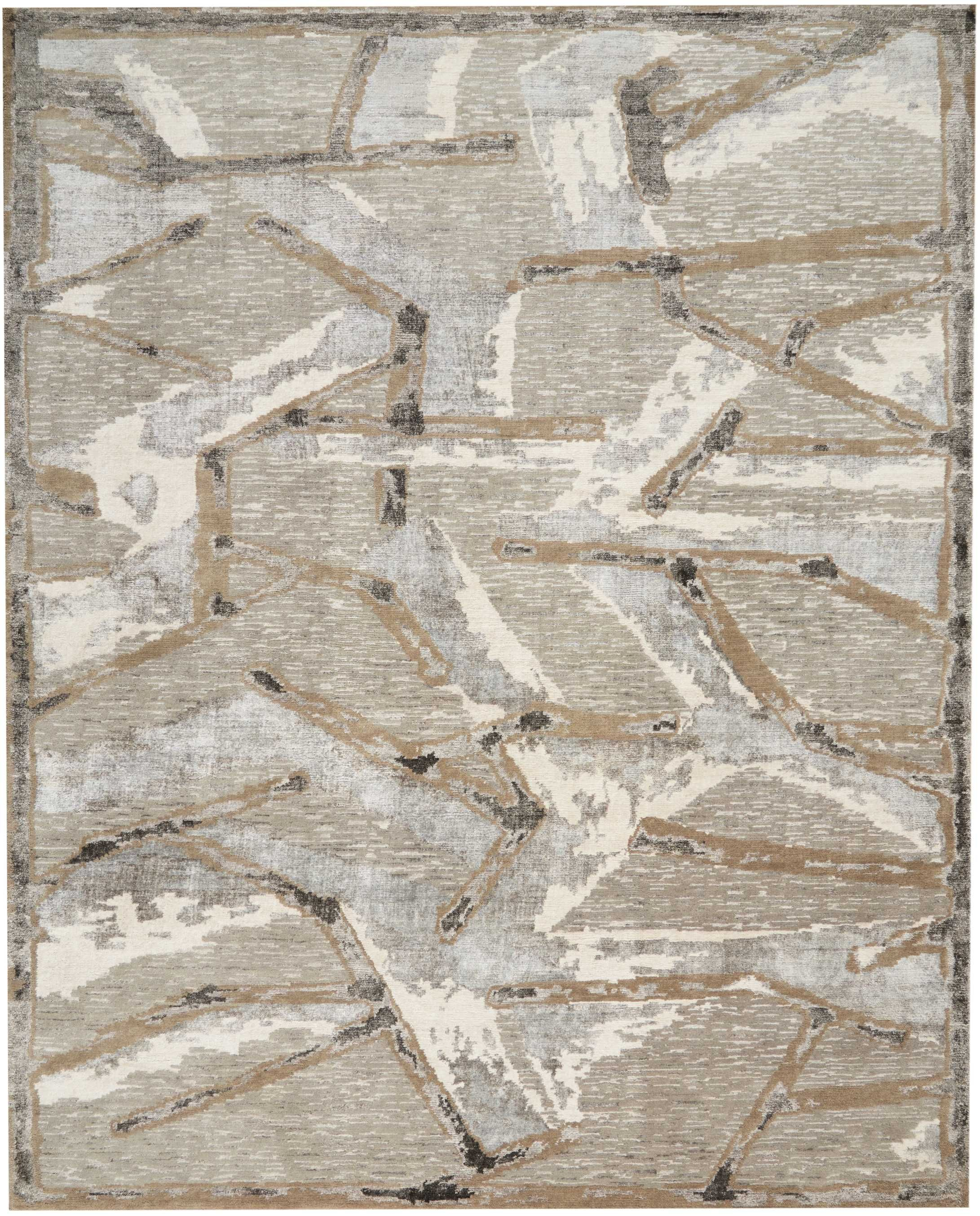 Christopher Guy Wool Collection Cgw16 Silver Christopher Guy Hand Knotted Rugs Hand Tufted Rugs