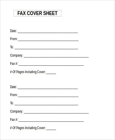 sle fax cover sheet microsoft word 9 exles in word News to Go 2