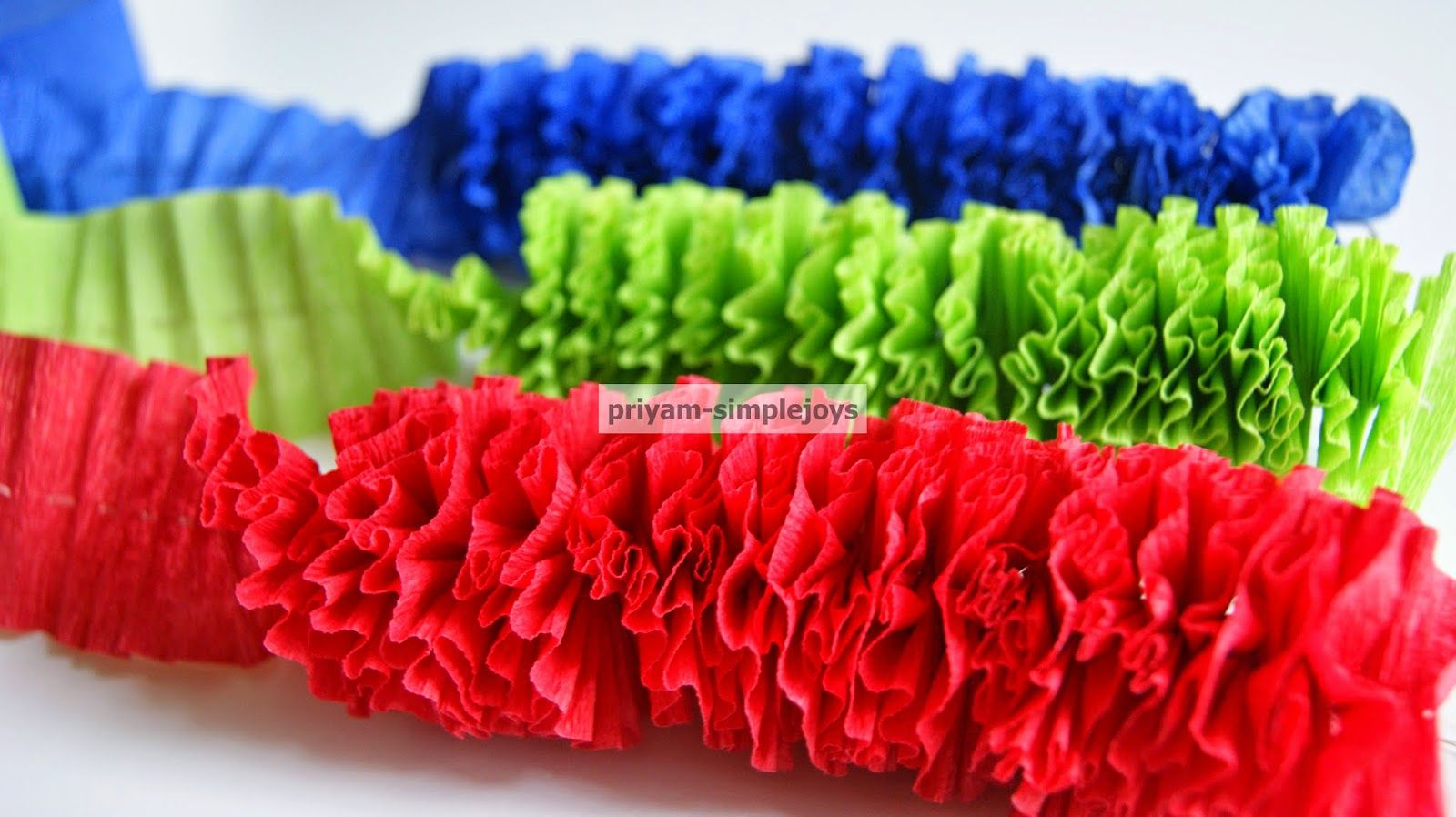 Crepe Paper Garland Thrifty Thursday Lwsl Crepe Paper Garland
