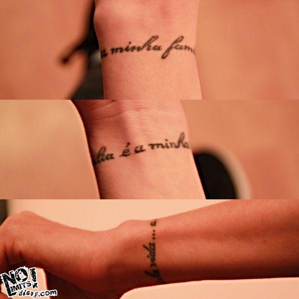 tatouage bracelet poignet avec prenom 1460489817236