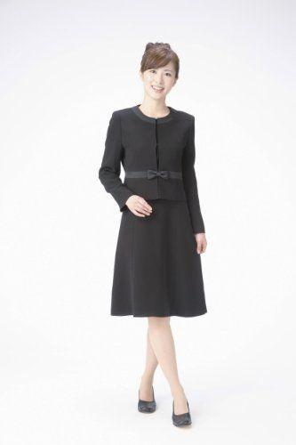 8fe3b4c22dcb6 Amazon.co.jp: (マーガレット)m801 marguerite ブラックフォーマル レディース アンサンブル 礼服