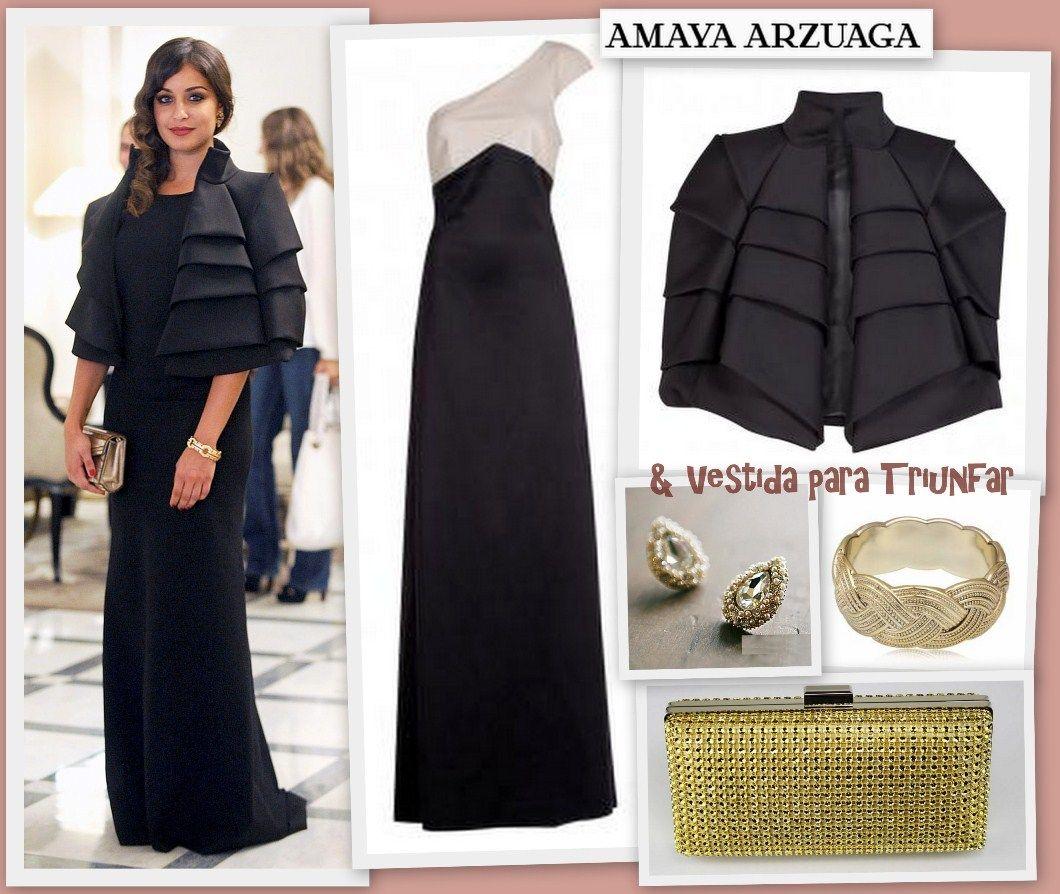 Consigue el precioso look de Amaya Arzuaga que lució Hiba Abouk gracias a la rebajas