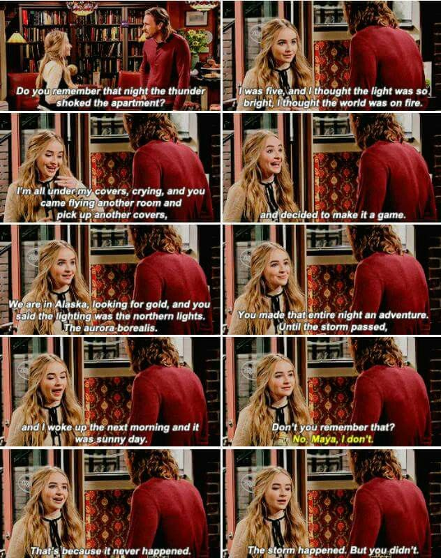 Girl Meets The Forgiveness Project Maya Meets World