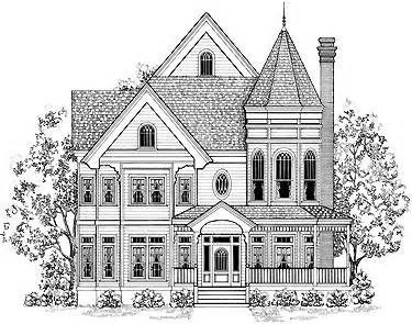 victorian style houses Colouring Pages (page 2