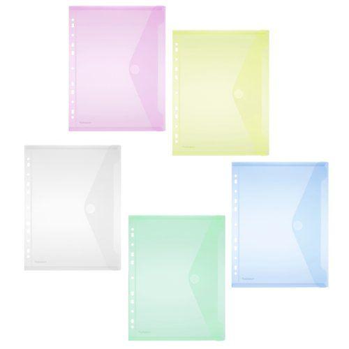 Umschlag/Sichttasche A4 hoch, PP, Klappe, Lochrand, transp. farb.sort., 10 ST FolderSys http://www.amazon.de/dp/B008JEY05K/ref=cm_sw_r_pi_dp_40yfub0Y9FMYG