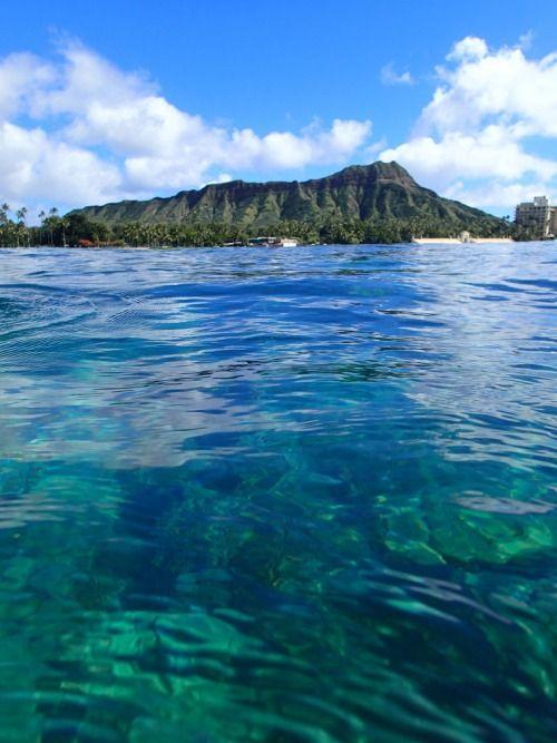 Waikiki Beach, Honolulu | Hawaii (by KyL 2014 | On Tumblr ...
