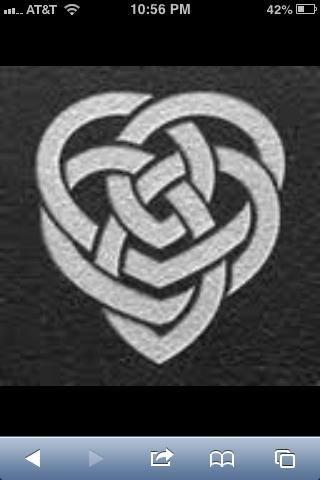 Celtic symbol for inner strength.