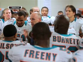 Watch: Dolphins ecstatic in locker room after win
