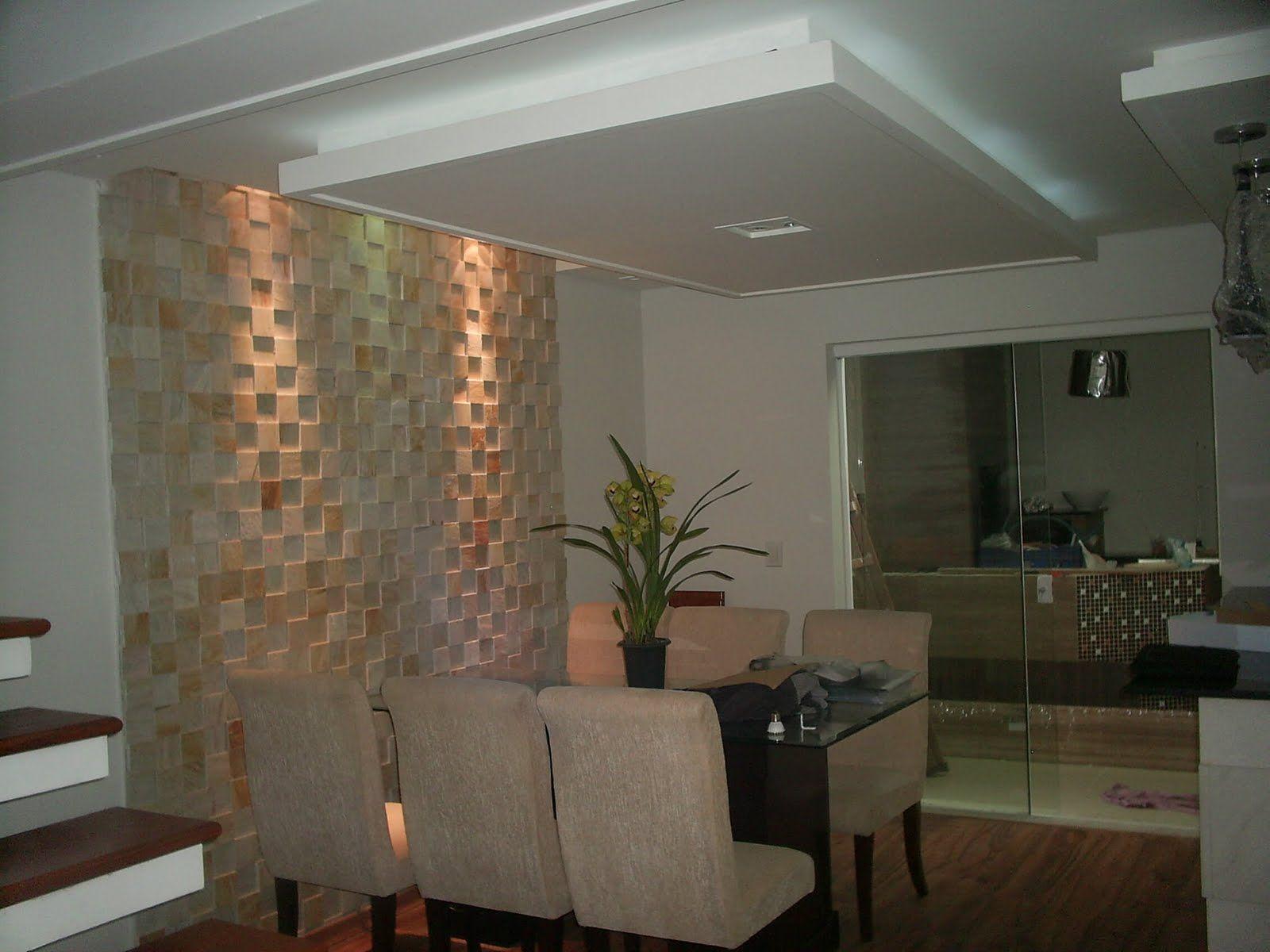 #91613A Salas de Jantar GSM – Glauco Gesso – Lindóia/SP Gesso  1600x1200 píxeis em Decoração De Sala De Estar Com Gesso