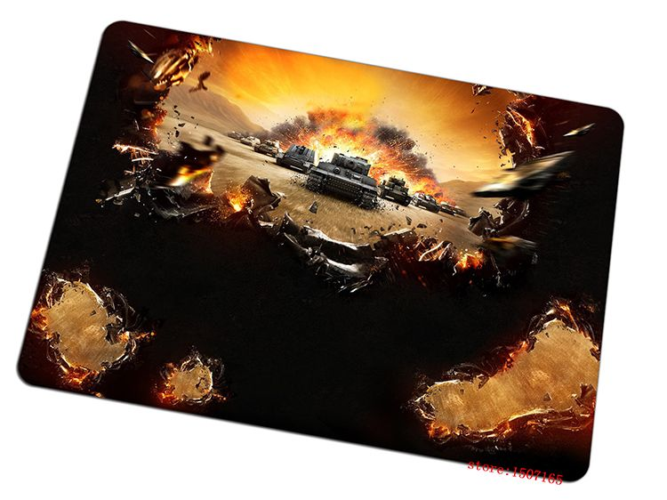 cool world of tanks mouse pad best seller large pad to mouse computer mousepad wot fire gaming mouse mats to mouse gamer #Affiliate