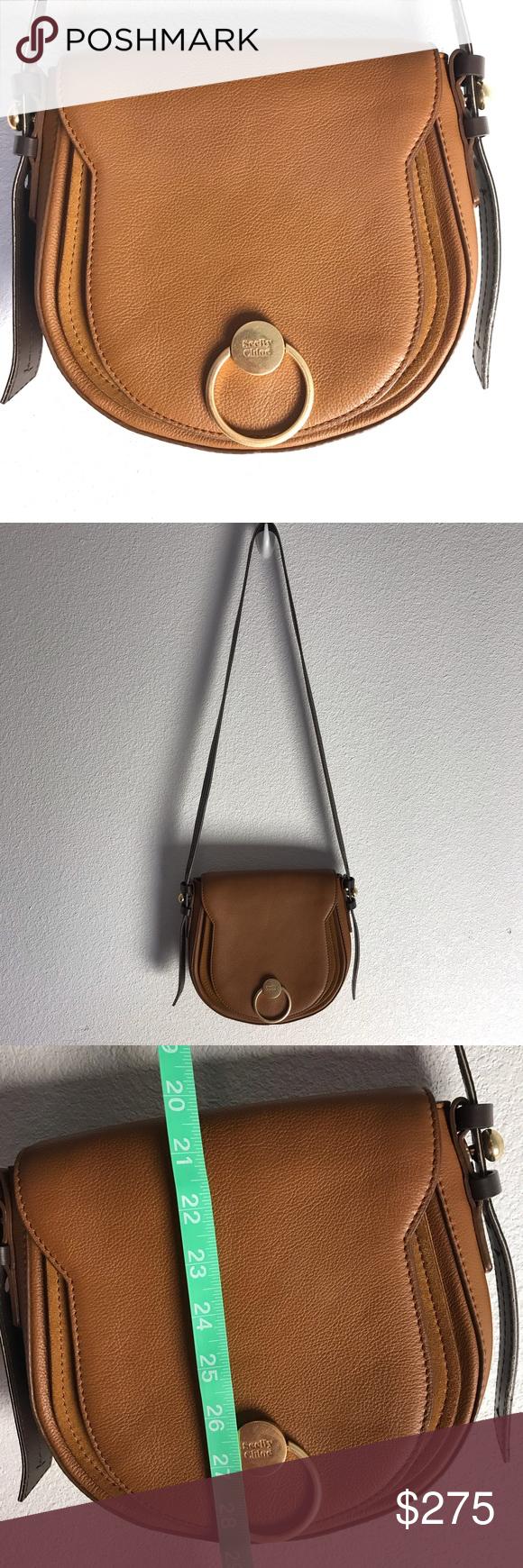 SEE by Chloe saddle bag in 2020 | See by chloe bags, Bags