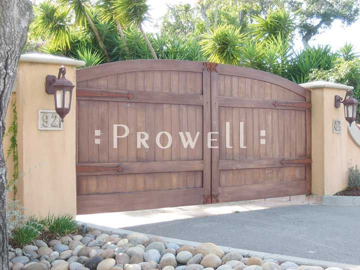 Wooden Privacy Drive Gate Privacy Driveway Gates 6