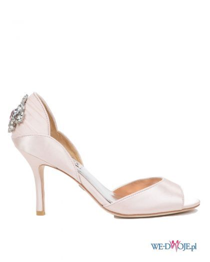 Buty Slubne Badgley Mischka Polkipl Buty Slub Wesele Evening Shoes Bridal Shoes Evening Sandals
