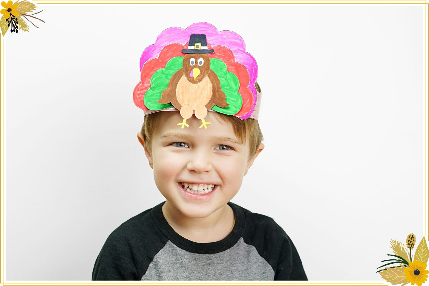 10 Thanksgiving Hats For The Kids Table