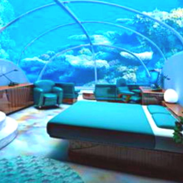 Cool Rooms: The World's Most Incredible Underwater Hotel Rooms