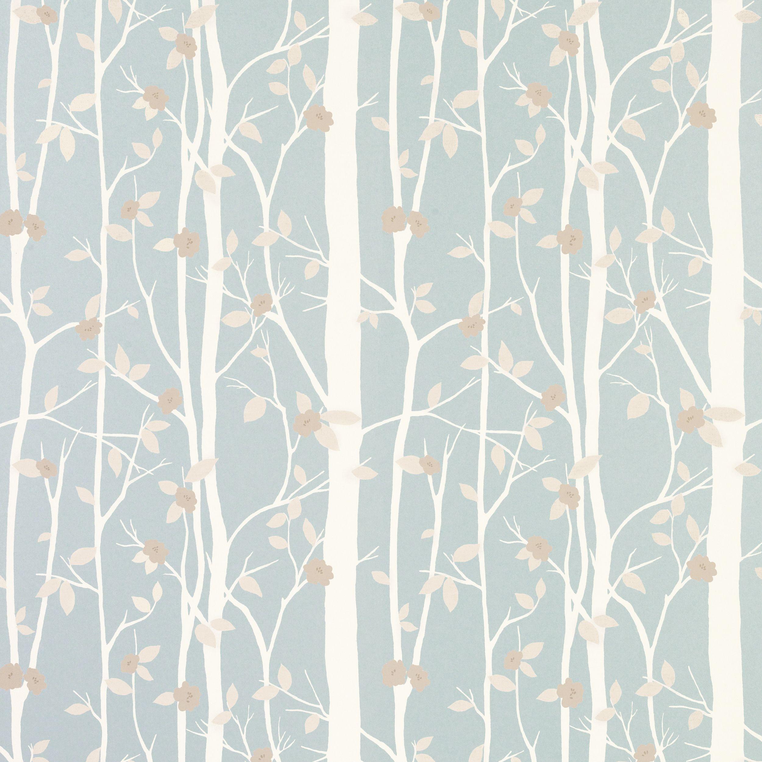 Cottonwood Duck Egg Leaf Wallpaper Productview 3534845 Cottonwood