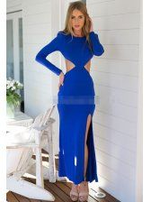 Hollow Out Sexy Elegance Dress In Stock $9.03