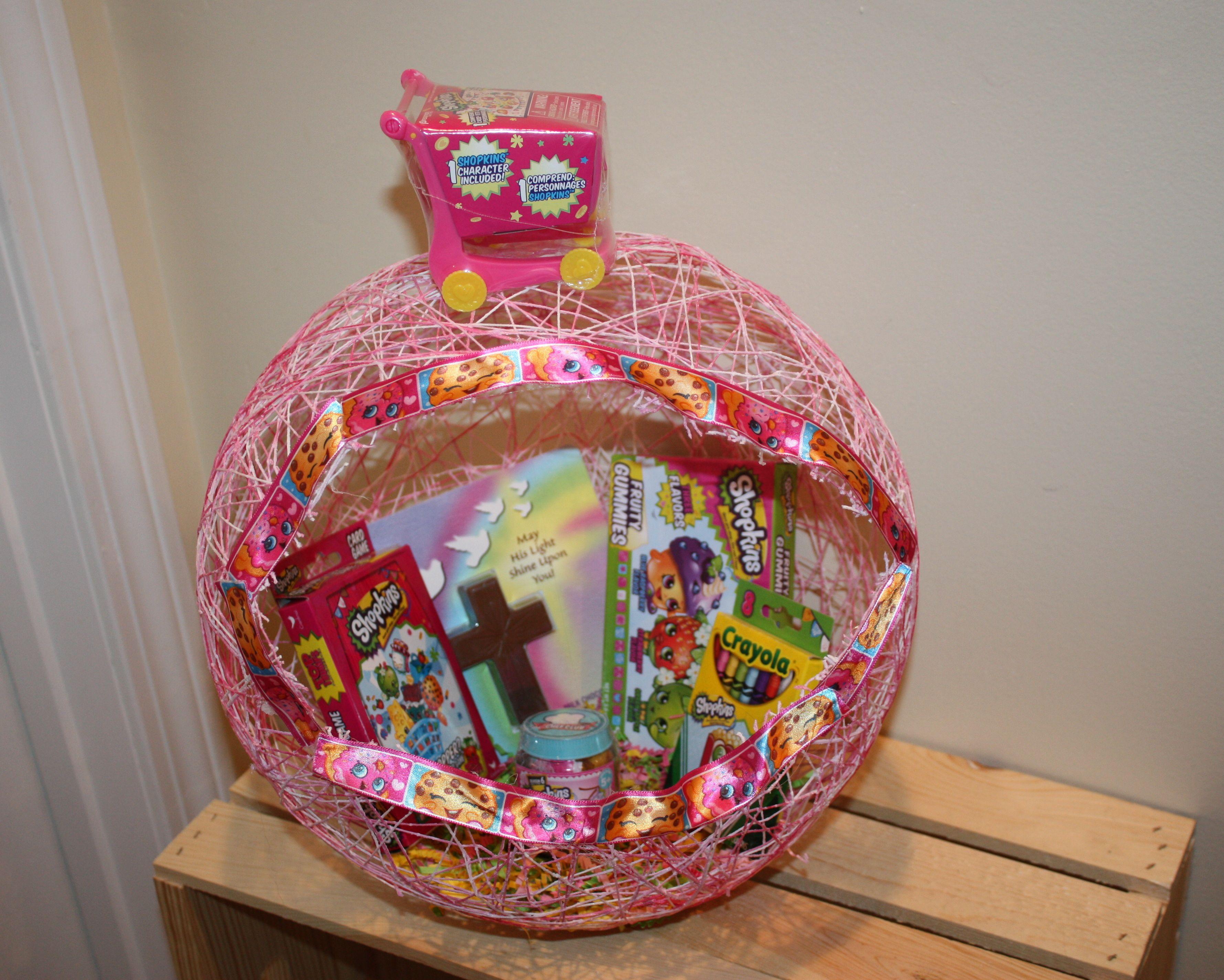 Shopkins string easter basket i made for my niece easter baskets shopkins string easter basket i made for my niece negle Images