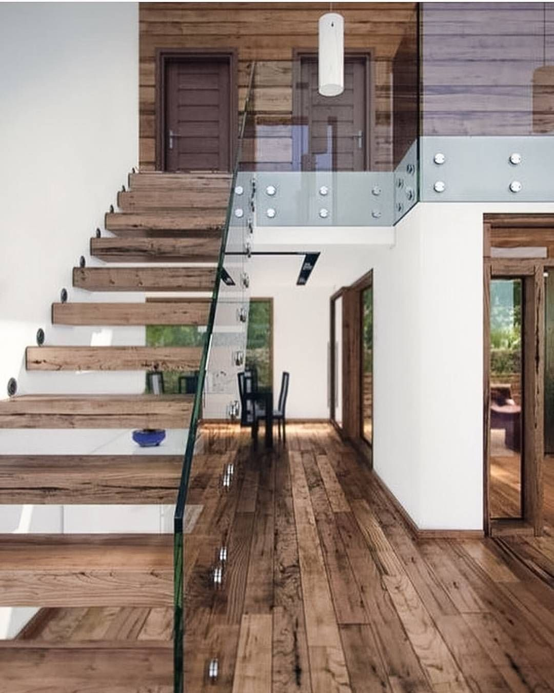 HENDRIX U0026 HARLOW   Official On Instagram: U201cA Modern Space With Timber And  Glass Against A Clean White Wall. Whatu0027s Not To Love!