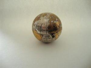 Vintage pygmalion globe shaped map of world powder compact spherical vintage pygmalion globe shaped map of world powder compact spherical gumiabroncs Gallery