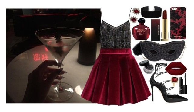 """""""but empty haze is all that remains..."""" by loveselena22 ❤ liked on Polyvore featuring Kate Spade, Chicwish, Dsquared2, NARS Cosmetics, Christian Dior, Miss Selfridge, David Yurman and Michael Kors"""