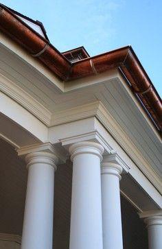 Column Entablature Detail Traditional Exterior Dream Home Traditional Porch Traditional Exterior Exterior Trim