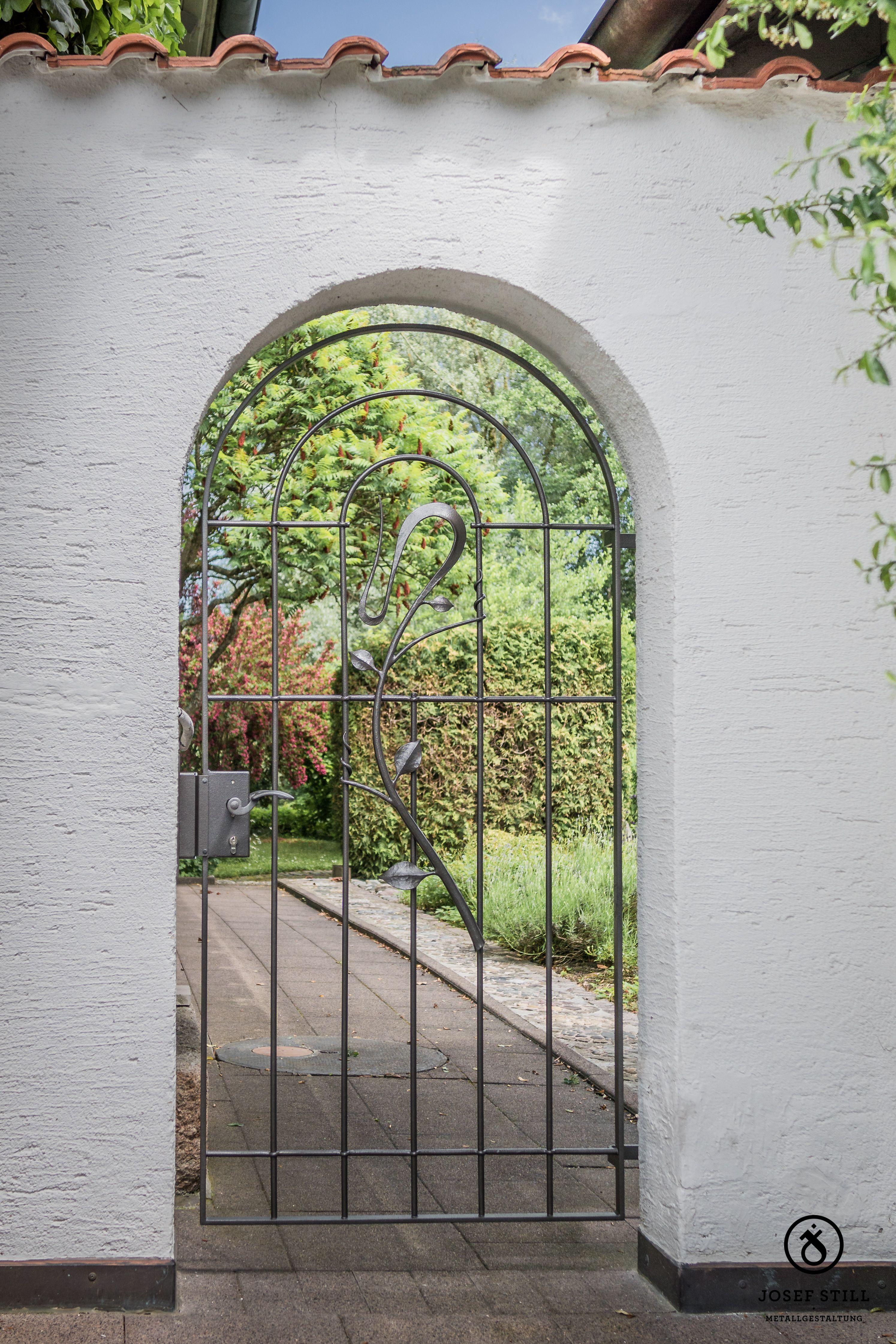 schmiede Kunstschmiede Tor Gartentor Gitter