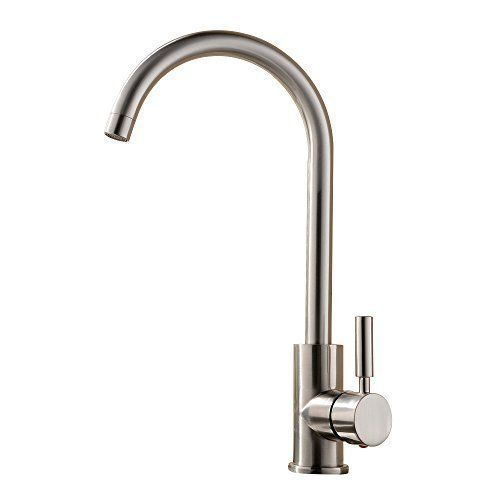 Best Commercial Brushed Nickel Stainless Steel Single Handle
