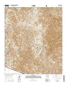 Az Topographic Map.Ruby Az Topo Map 1 24000 Scale 7 5 X 7 5 Minute Current 2014
