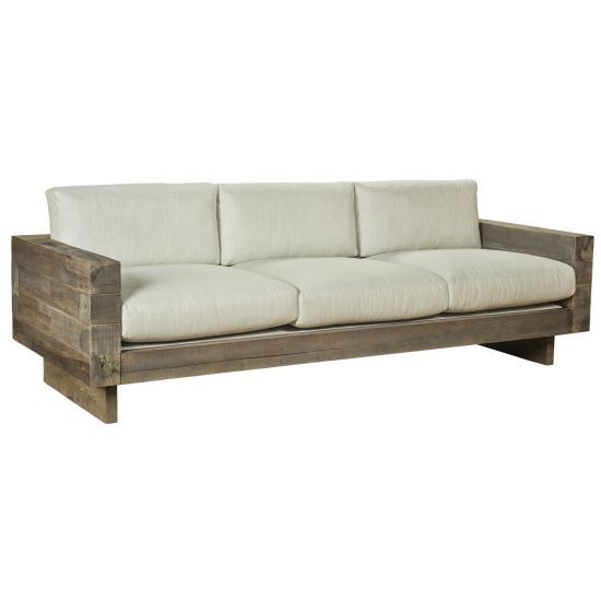 T A R A C E A Vigas Sofa Wood Sofa Sofa Furniture Wooden Sofa