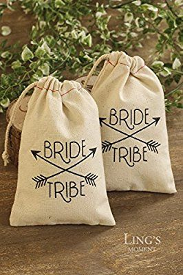 Amazon Com Ling S Moment Wedding Party Gift Favor Bags 10pcs 4