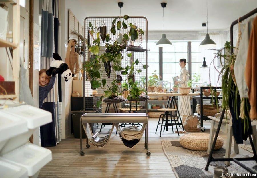 Comment Creer Une Entree Quand On N En A Pas Salon Ikea