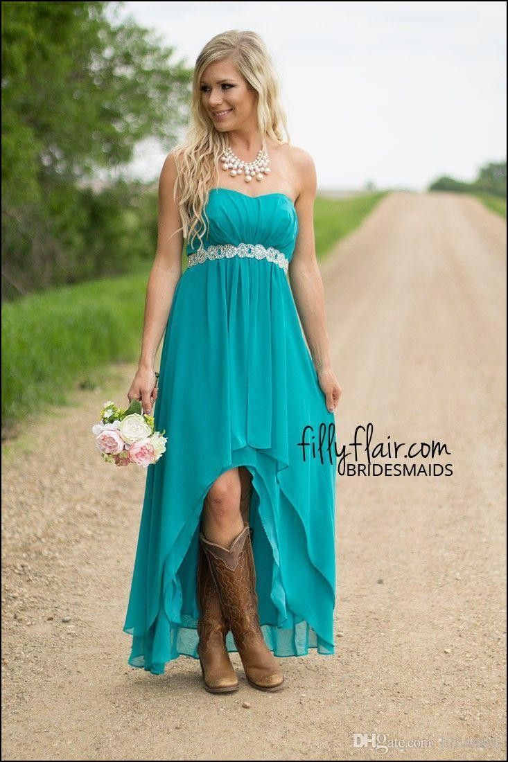 Turquoise Western Bridesmaid Dresses | Dresses and Gowns Ideas ...