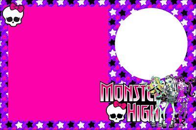 Monster High invitaciones para imprimir gratis – Free Monster High Party Invitations