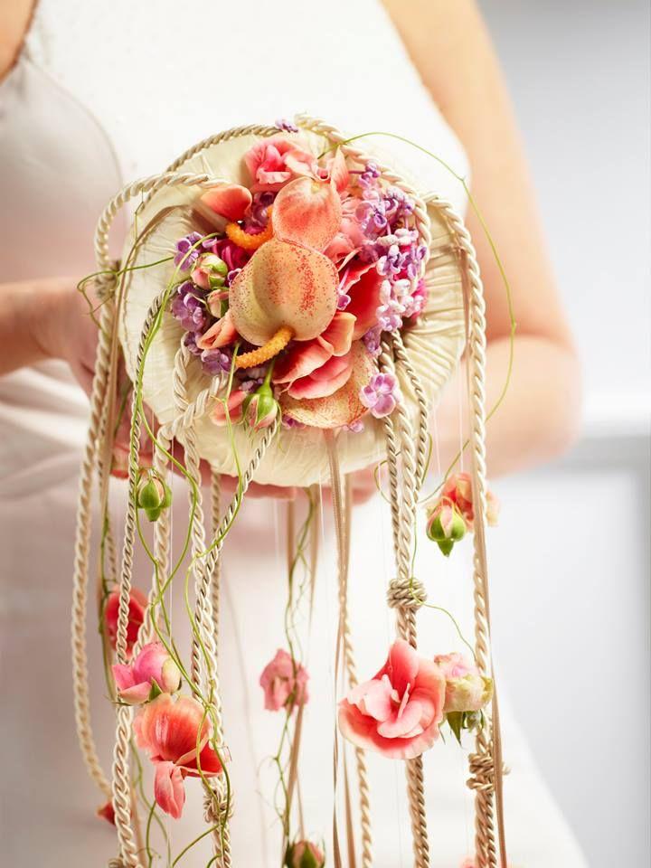 Designed By Manfred Hoffmann Unusual Wedding Bouquet Unique
